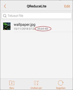Cara Mengecilkan (Size) Gambar Sesuai Keinginan di Android
