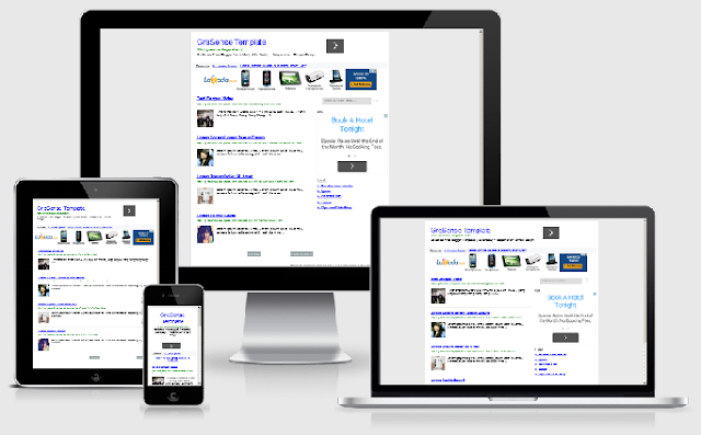 This is a template Gresense bloggers are able to improve your adsense earnings