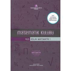 Matematik Kulübü YGS Kolay Matematik 1 Soru Bankası (2017)