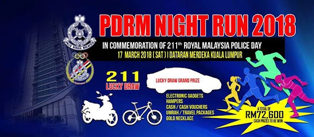 PDRM Night Run 2018