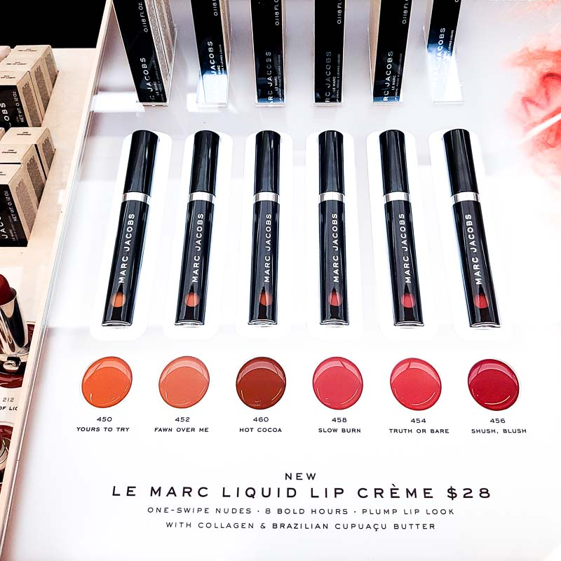 Marc Jacobs Le Marc Liquid Lip Creme - Swatches