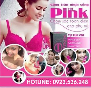 cách sử dụng pink tăng vòng 1, thuốc nở ngực của Mỹ
