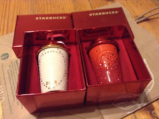 Starbucks Christmas Ornaments 2015 Swarovski studded