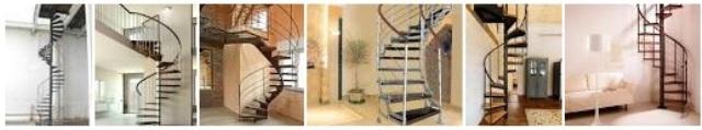 5. Model tangga spiral
