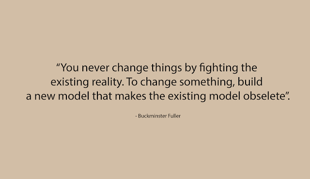 Fantastic quote by Buckminster Fuller