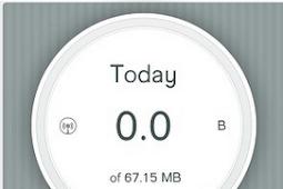 Cara Monitor Pemakaian Internet Di iPhone Dengan DataWiz