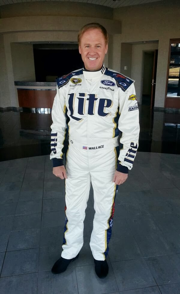 Rusty Wallace Ford >> Lucky Dog: Rusty Wallace gets one more NASCAR ride