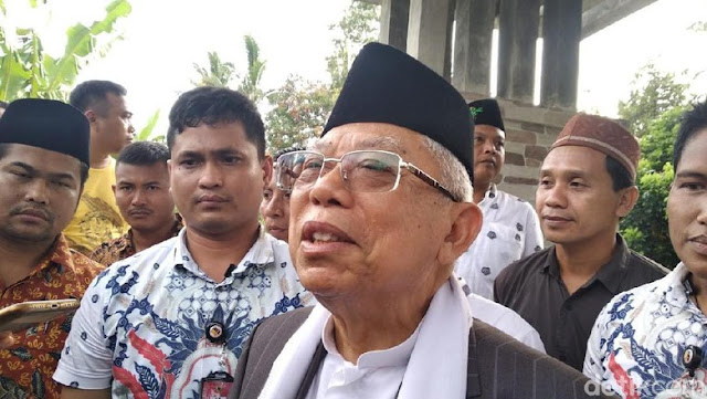 Ma'ruf Amin: Indonesia Tak akan Punah, Memangnya Dinosaurus