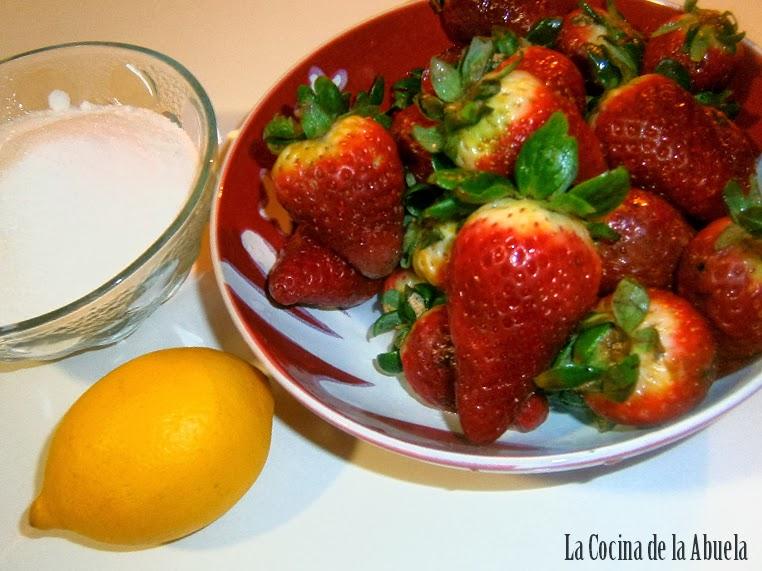Mermelada de Fresas Casera.