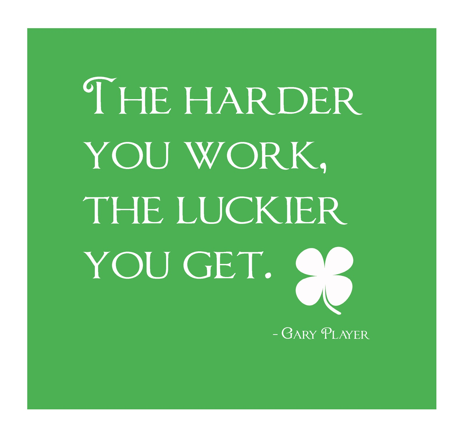 Luck Vs Hard Work Quotes: Hard Work Beats Talents