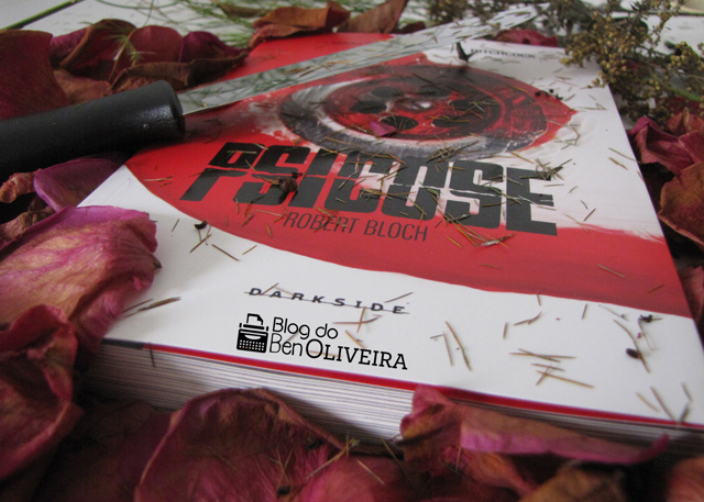 Livro Psicose Robert Bloch DarkSide Books Editora Nacional