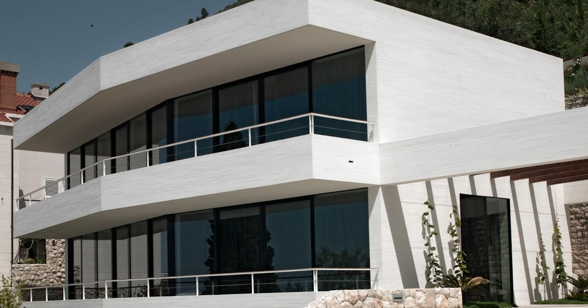 Home Design Inspiration White House Building With Flat Roof