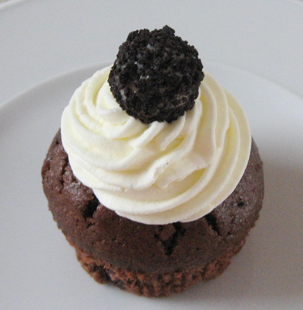 Kate, Küche und mehr...: Giotto-Oreo-Schoko-Cupcake