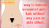Pubic hair removal at home, Painless effective way for every women.