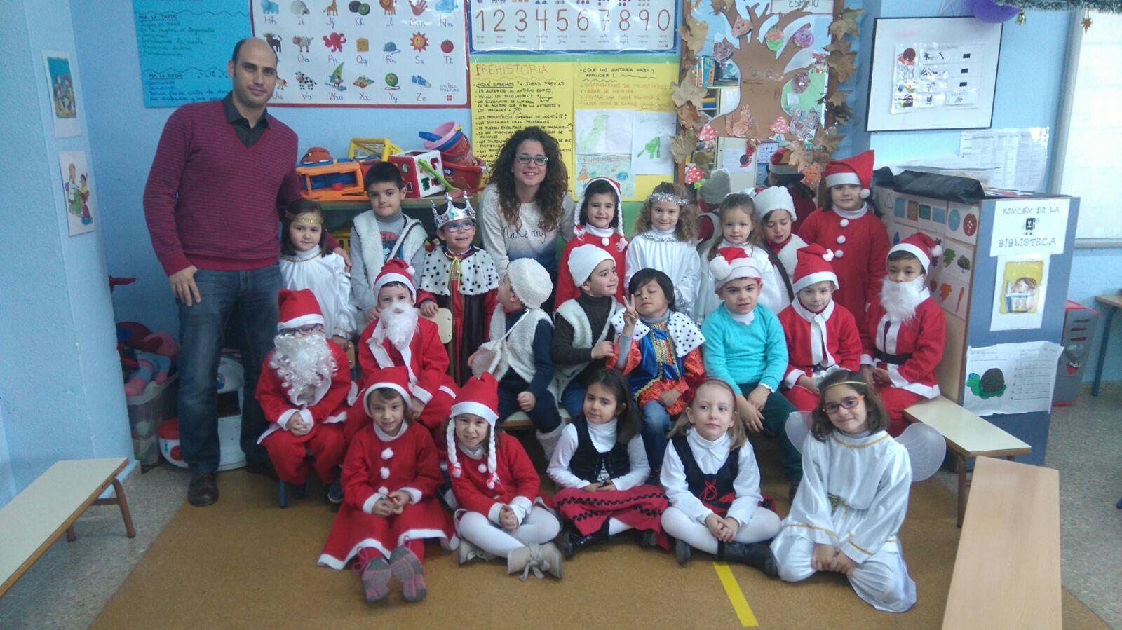 La clase del maestro juan antonio navidad en nuestra clase for En nuestra clase