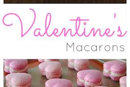 Valentine's Heart Macarons Recipe