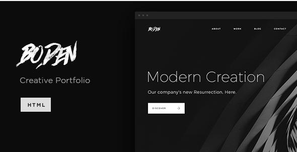 Boden Creative Portfolio HTML Template