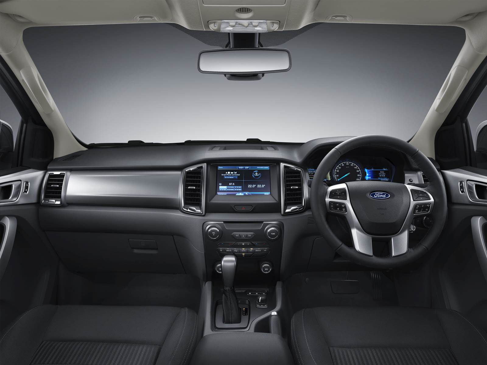 Novo Ford Ranger 2016 - interior