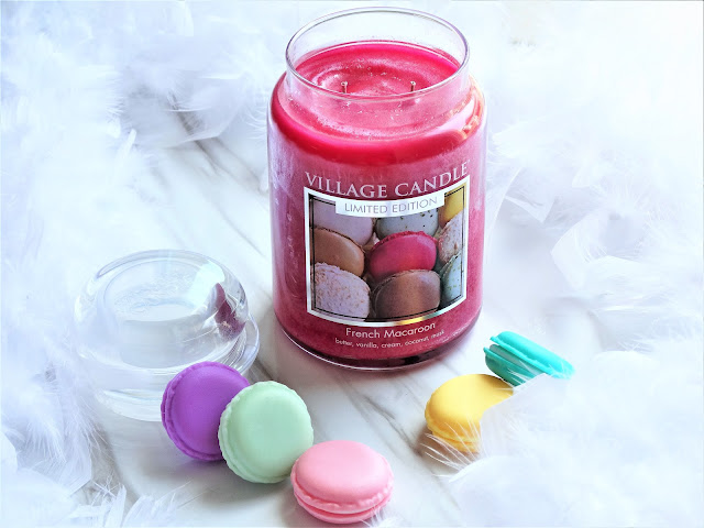 avis French Macaroon de Village Candle, bougie village candle, bougie macaron, parfum macaron, blog bougie, candle review, scented candles