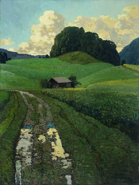 Josef Stoitzner Nach dem Regen (After the rain) 1925