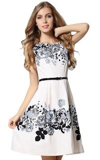 model baju remaja motif bunga