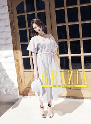 Kim Ji Won Jin Goo - Grazia Magazine April Issue 2016