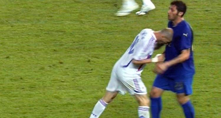 ماتيرازي يعترف و يكشف لأول مرة العبارة الحقيقية التي دفعت زيدان لنطحه في مونديال 2006