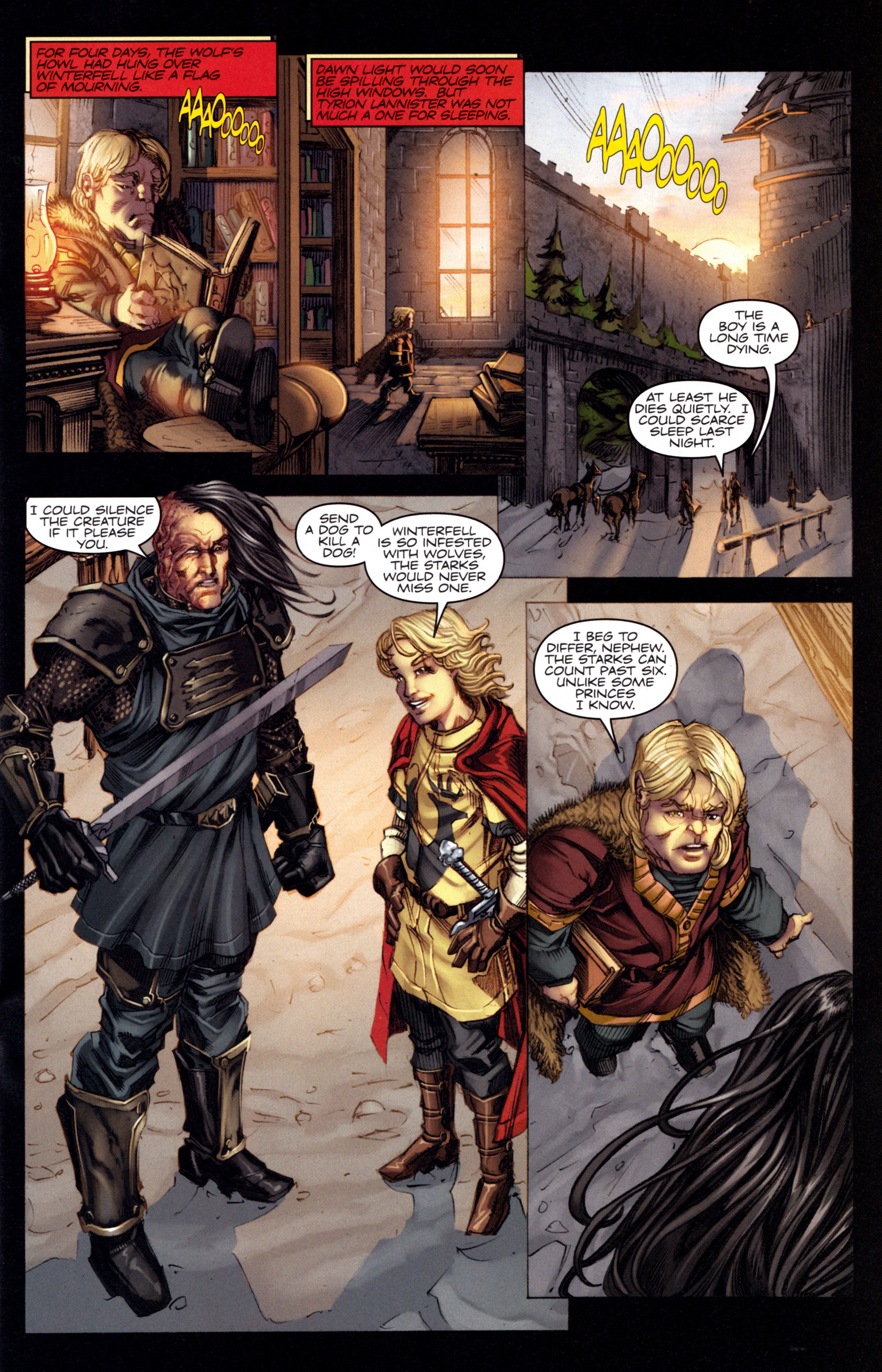 Read online A Game Of Thrones comic -  Issue #3 - 17