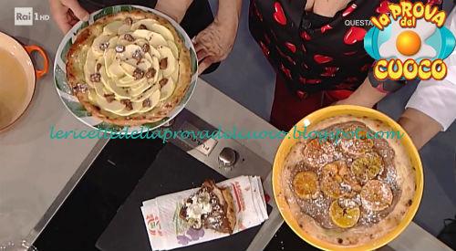 Focaccia bianca con cioccolato ricetta Sorbillo e Castagna da Prova del Cuoco