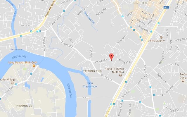 Cho thuê nhà nguyên căn Hẻm xe hơi phường Trường Thọ quận Thủ Đức