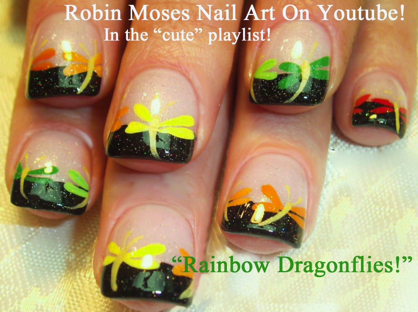 Nail Art Tutorials - Elegant Nail Tutorial Designs - Nail Art By Robin Moses: