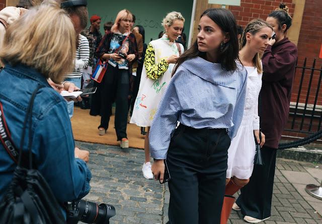 london fashion week street style 2017