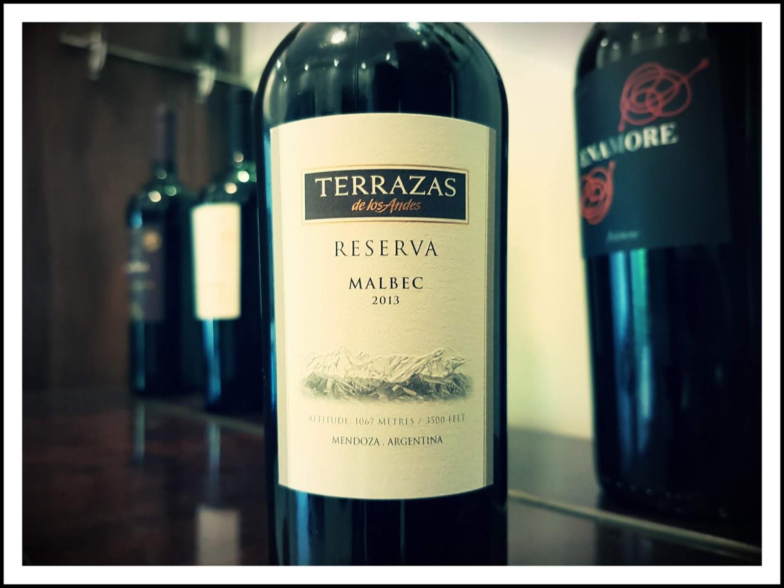 Tudo Vinho Terrazas De Los Andes Reserva Malbec 2013