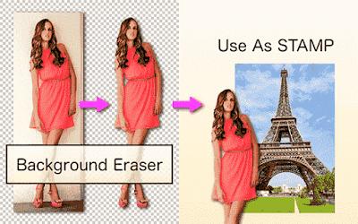 Aplikasi Edit Foto Melayang Android Background Eraser