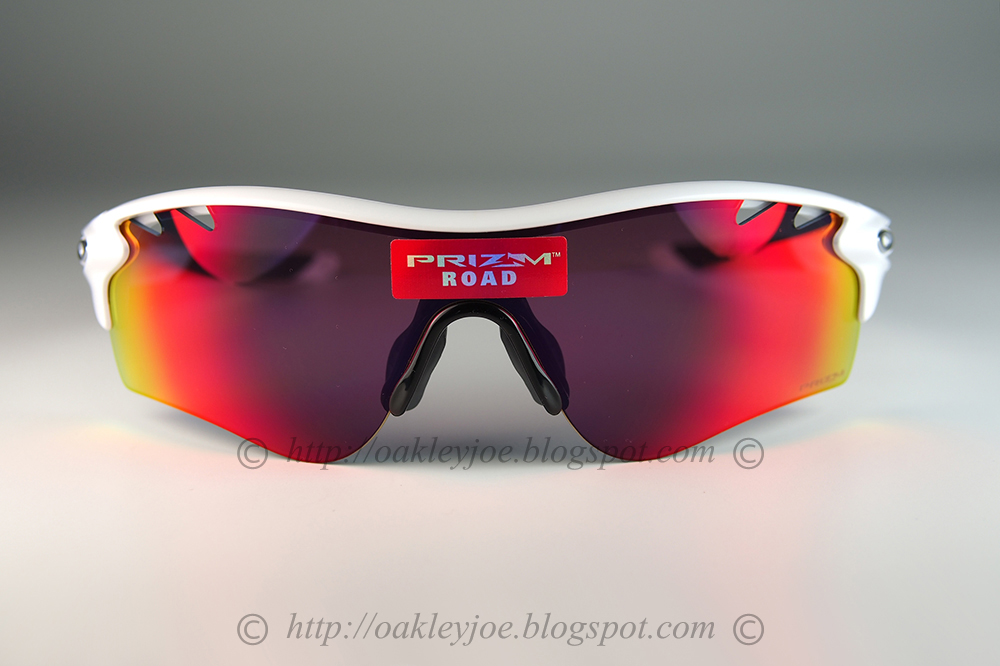 90bfb30fb107 Custom Radarlock black + prizm ruby + vr28 black iridium $365 list this lens  pre coated with Oakley hydrophobic nano solution complete set with box,  case, ...