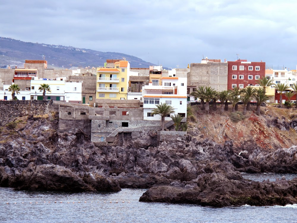 Alcala coastal town, south Tenerife, Canary Islands