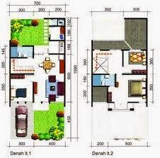 contoh rumah minimalis luas tanah 72