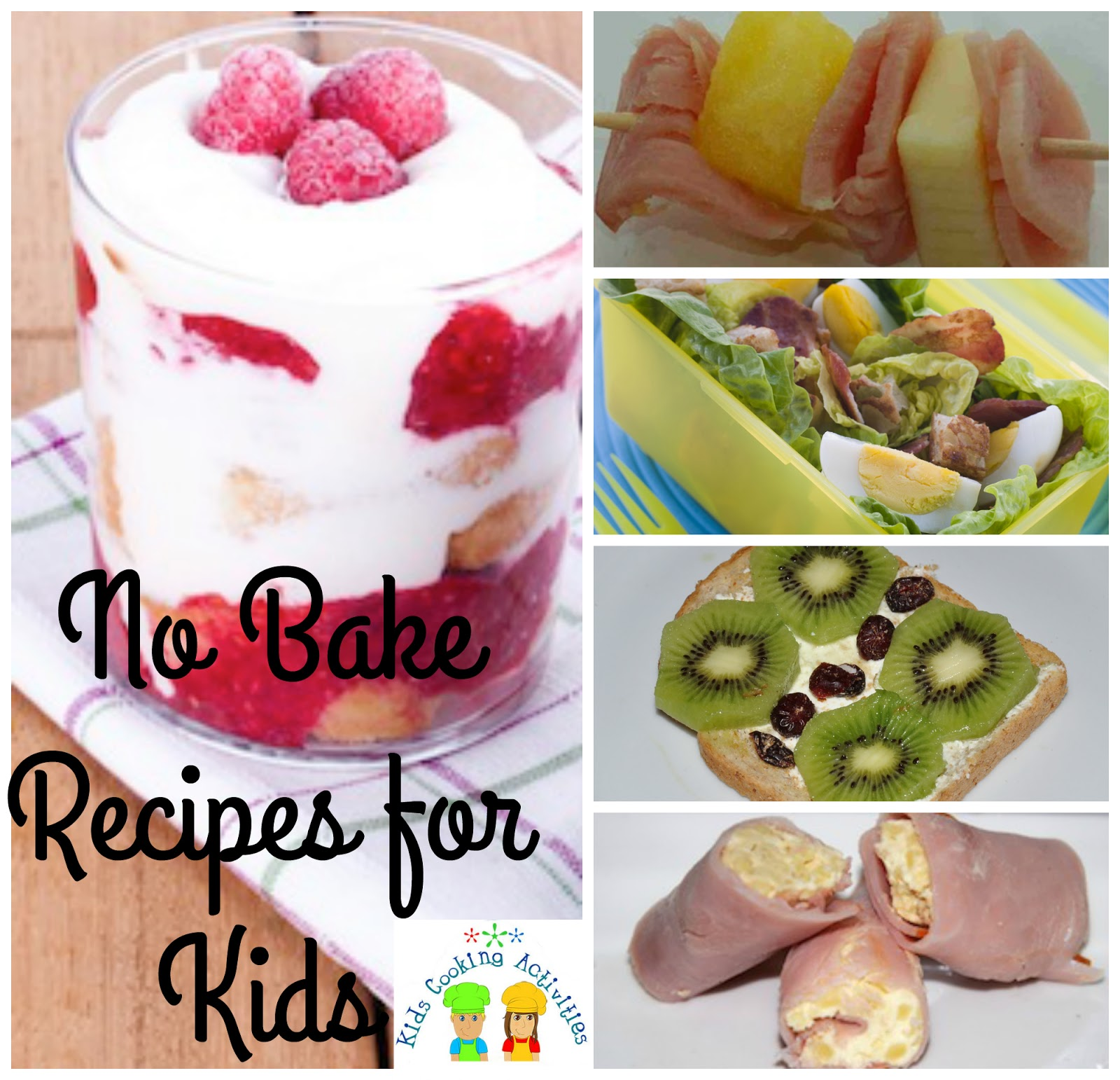 Kitchen Recipes: No Bake Recipes For Kids
