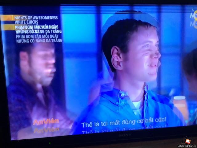 màn hình tivi samsung có Kẻ xọc ngang xọc đọc hay bị bóng chữ