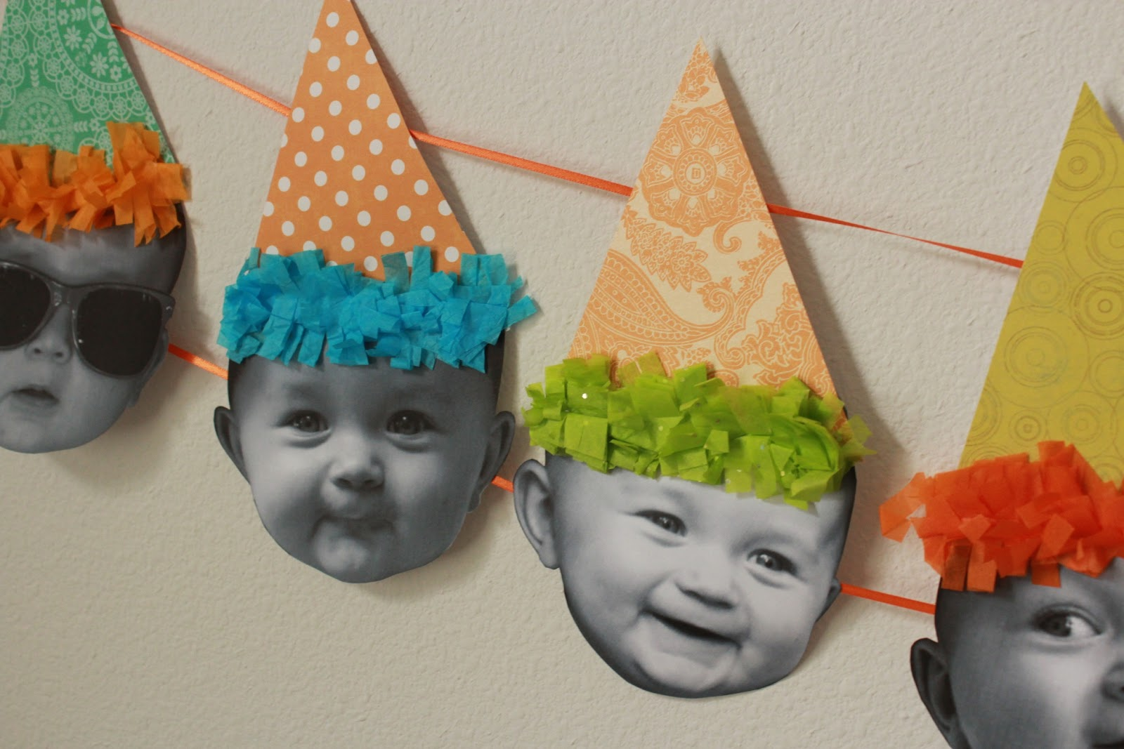 From Dahlias To Doxies Baby Birthday Banner