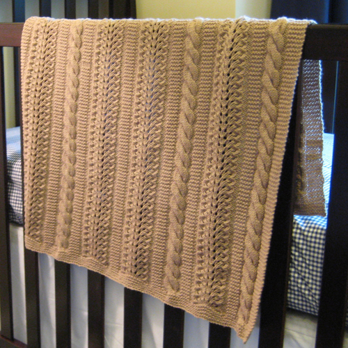Heavenly Baby Blanket - Free Pattern
