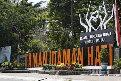 Taman Idaman Hati, Salah Satu Ikon Kota Wlingi