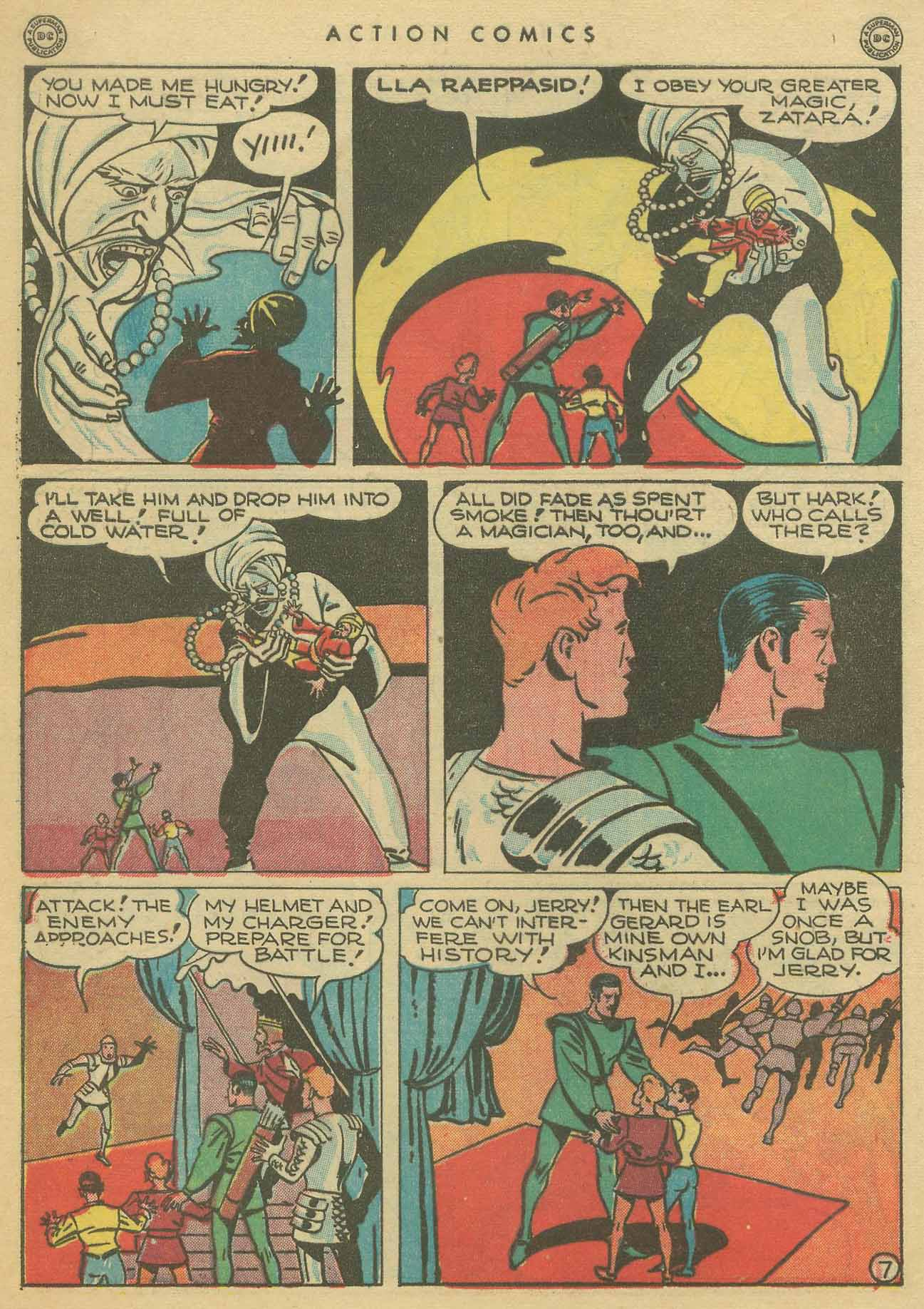Read online Action Comics (1938) comic -  Issue #102 - 47