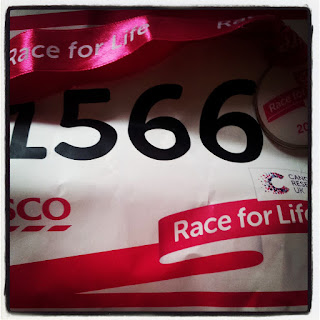 Race For Life... DONE!