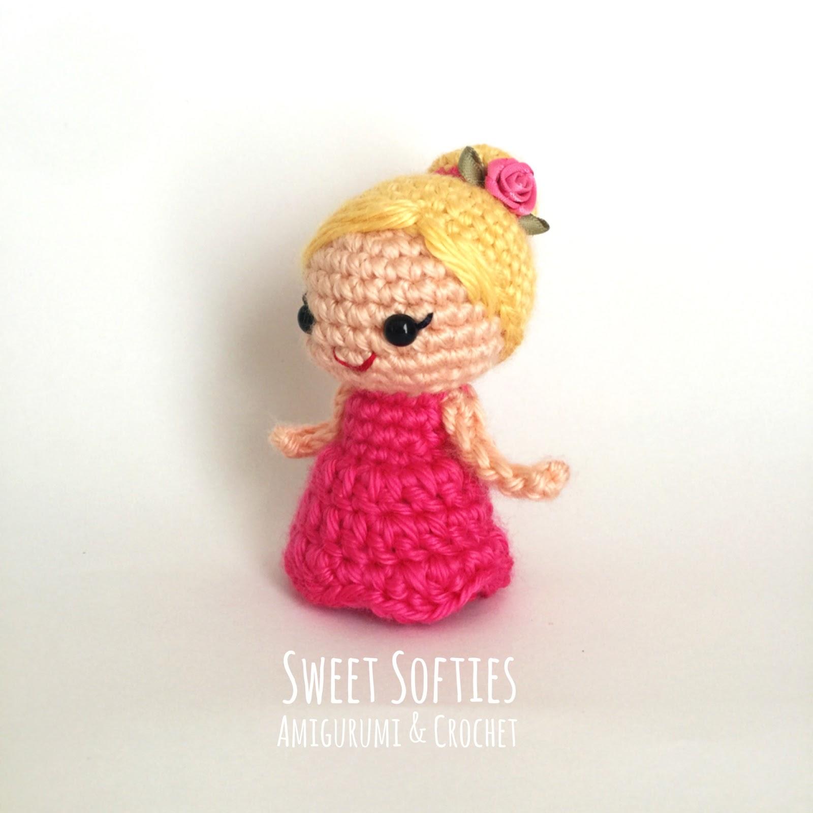 Amigurumi Rose Doll Free Pattern (mit Bildern) | Kostenlos ... | 1600x1600