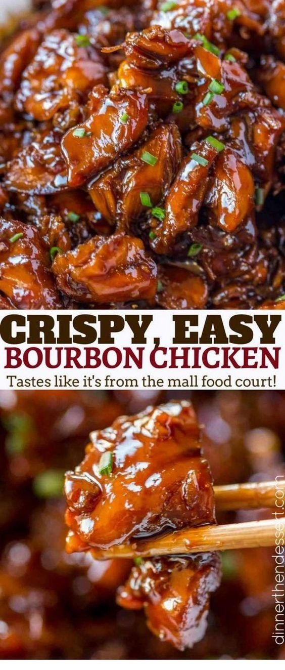 Easy Bourbon Chicken