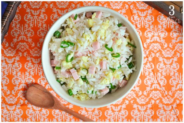 arroz primavera receita