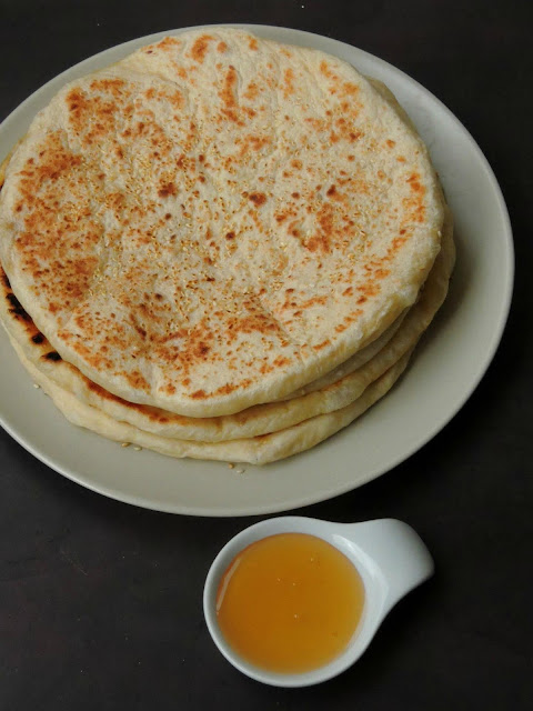 Mkate Wa Ufuta, Zanzibar Sesame Flatbread
