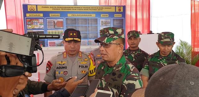 Jelang Pemilu, Pangdam III/Siliwangi Dan Kapolda Jabar Patroli ke Wilayah Garut