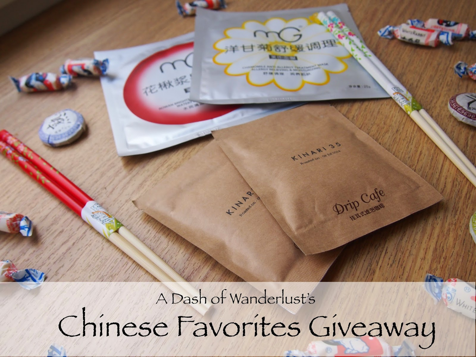 Chinese Favorites Giveaway by A Dash of Wanderlust